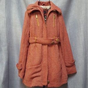 Rue21 Heavy Dress Coat Vintage Look